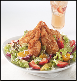 Calypso Coconut Shrimp Salad